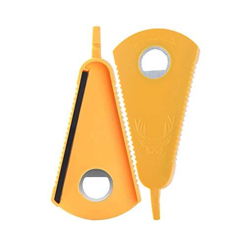Paquete de 2 abrelatas y abrebotellas con pinza de silicona para quitar tapas obstinadas, herramienta de cocina, removedor de sellos de agarre para el hogar