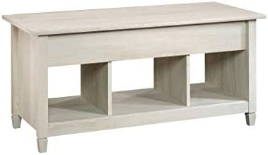 Best Sauder Edge Water Lift-top Coffee Table, Chalked Chestnut finish