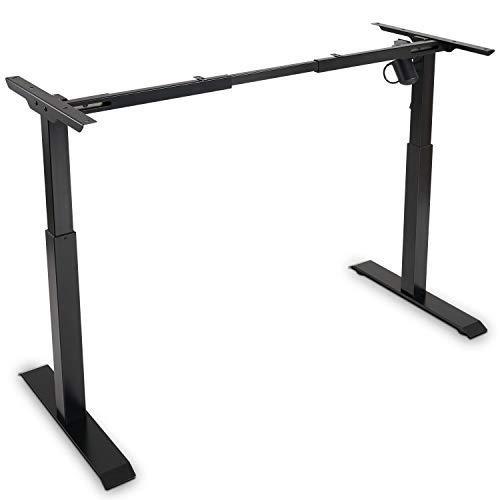 FEZIBO Electric Stand up Desk Frame Workstation Black Now $199.99 (Was $299.99)