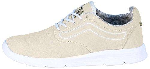 Vans Iso 1.5, Zapatillas bajas unisex para adultos, color Blanco, talla 42.5 EU