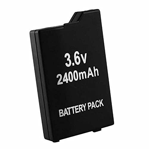 Todobarato24h Bateria Compatible con Sony PSP Slim & Lite (PSP-2000 / PSP-2004) / PSP Brite (PSP-3000 / PSP-3004) (2400mAh) PSP-S110 bateria de Repuesto, Pila reemplazo