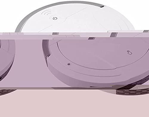 VTAMIN Robot aspiradora, piso inteligente Robot de barrido seco y húmedo 2-en-1 Vacuzando barrido y trapeador, silencioso fuerte succión, súper delgado, tranquilo, limpia pisos duros para alfombras, i