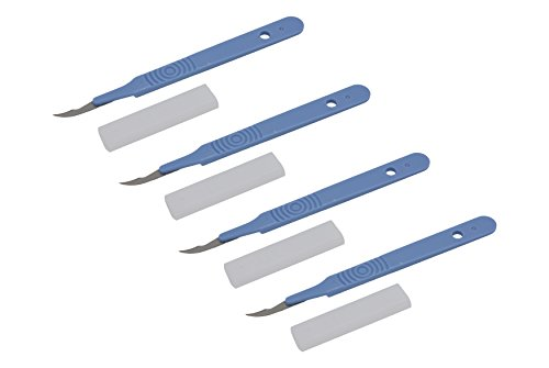 Ultima 5.5' Razor Sharp Surgical Seam Rippers/Seam Cutters (4 Pack)