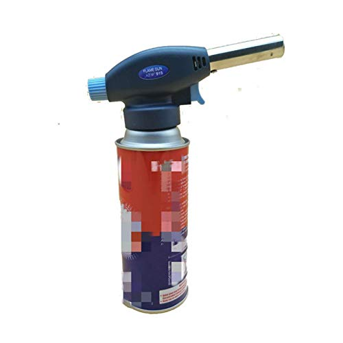 FXBXYLQ Duradero Metal Llama Antorcha de Gas Blow Torch Cocina Autoignicion Butano Gas Soldadura-Quemador Calefacción Soldadura Gas Quemador Llama Encendedor para Creme Brulee, Cocina, Cocina