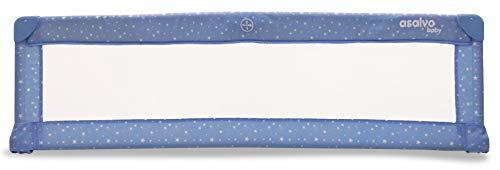 Barrière de lit Baby Fox 150 cm 'Etoiles' - Bleu