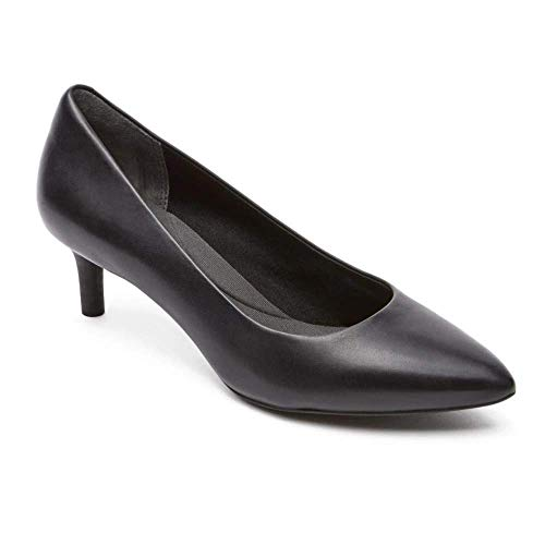 Rockport Women's Total Motion Kalila Pump Black Calf 7.5 M