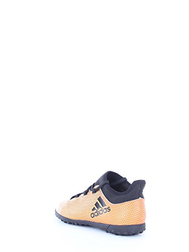Adidas X Tango 17.3 TF J, Botas de fútbol Unisex Adulto, Amarillo (Ormetr/Negbas/Rojsol 000), 38 EU