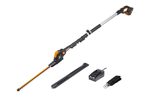 WORX WG252E 18V (20V MAX) Cordless Pole Hedge Trimmer 45cm...