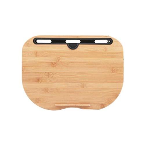 Z-MIN Portátil Bamboo Laptop Table Pillow Lap Desk