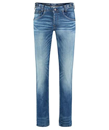 PME Legend Herren Jeans Skyhawk New mid Stone blau - 32/34