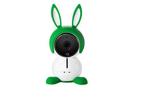 Arlo ABC1000-100EUS BabyCam - Ecoute Bébé Vidéo Tout-en-un, Capteurs d'Air, Alertes de Mouvement, Monitoring Sans Contrainte via l'Appli Arlo Gratuite , Vert, Blanc