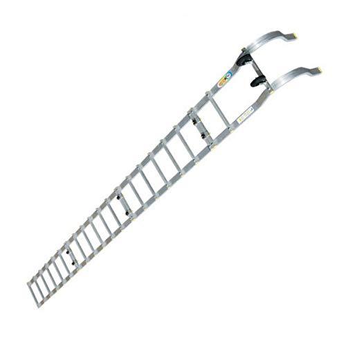 Echelle de toiture à crochet pliante - Longueur : 5.60m - Espacement des barreaux : 25cm