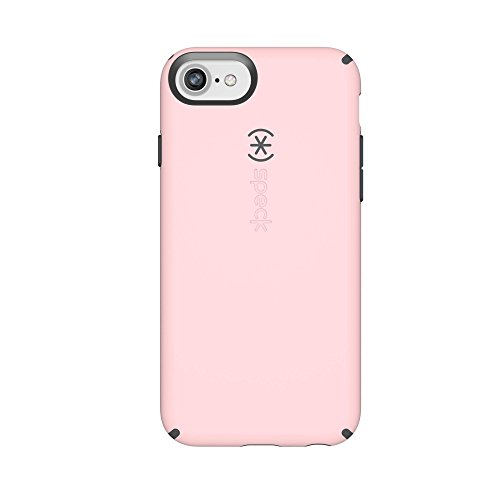 Speck Products CandyShell Cell Phone Case for iPhone 8/7/6S/6 - Quartz Pink/Slate Grey