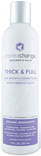 Natural Hair Growth Conditioner - Hair Care and Hair Treatment for Dry Damaged Hair - Thickening Conditioner that Prevents Frizzy Hair - Gluten Free Hair Conditioner For Women and Men (8 oz)