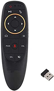 ماوس هوائي لاسلكي صوتي ذكي 2.4 جيجاهرتز لاجهزة اندرويد وتي في بوكس والكمبيوتر الشخصي واللاب توب - G10