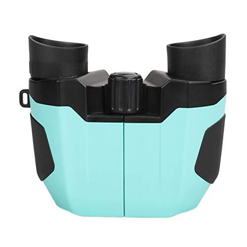 TWW Binoculares para niños para visión Nocturna de Alta definición y Alta Potencia, binoculares portátiles pequeños Profesionales para protección Ocular,Azul
