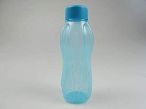 TUPPERWARE To Go Eco 310ml blau Trinkflasche Flasche EcoEasy Öko Ökoflasche