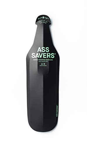 Ass Savers ASB-1-BLK Fahrrad-Schutzbleche, Schwarz, Big