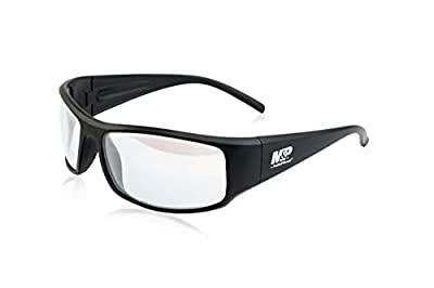 Smith & Wesson M&P Thunderbolt Full Frame Shooting Glasses with Impact Resistance and Anti-Fog Lenses for Shooting, Working and Everyday Use, clear
