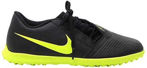 Nike Phantomvnm Club Tf, Scarpe da Calcio Unisex-Adulto, Multicolore (Black/Volt 7), 43 EU