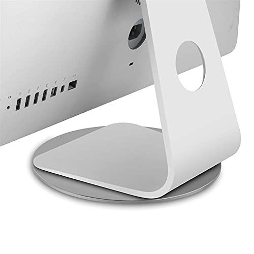 360 & deg;Bandeja giratoria con soporte antideslizante de rotación para monitor, computadora portátil, proyector de TV, soporte para computadora portátil de aluminio de múltiples ángulos (color: gris