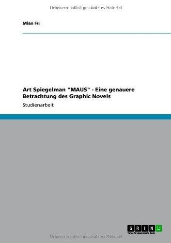 """Art Spiegelman """"MAUS"""" - Eine genauere Betrachtung des Graphic Novels (German Edition)"""