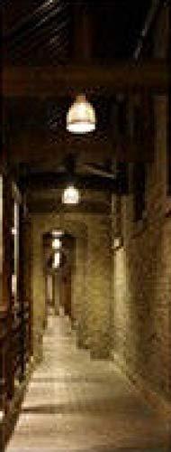 HCCYFRGN® Adhesivos Para Puertas Mural De Puerta - Pasaje Del Sótano Retro 80X200Cm 3D Autoadhesivo Puerta Pegatina Paredes Impermeable Vinilos Papel Pintado Puerta Decoracións