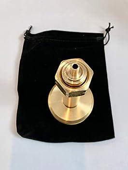Gomet Dish Adaptateur de réservoir GPL Pour remplir les bouteilles de gaz de camping Avec sac en tissu