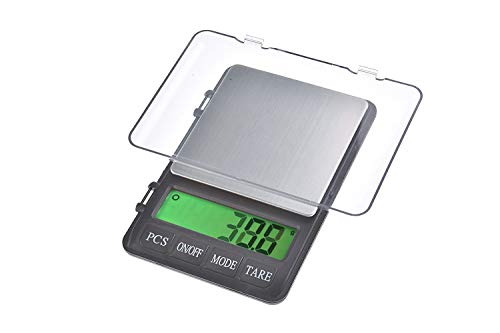 Quantum Abacus Báscula digital de precisión/balanza para correo/joyería, 3kg / 0,1gr, 999-3000g0.1g