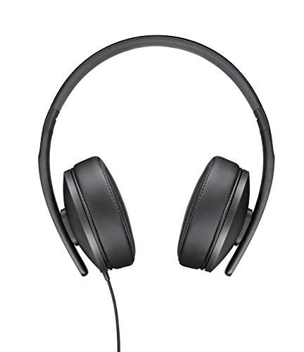 Sennheiser HD 300 Cuffia Circumaurale, 18–20,000 Hz (-10 dB), Leggera, Richiudibile, Nero