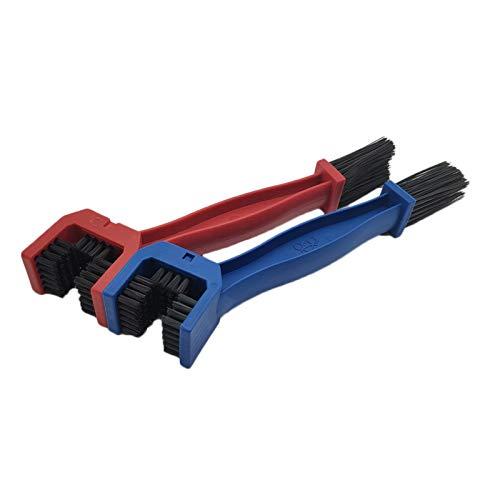 Kit de herramientas de cepillo de limpiador de motocicletas de bicicleta, cepillo de moto Ciclismo limpio limpio, para Suzuki para Kawasaki para BMW para automóviles de gas de gas ducati para piezas