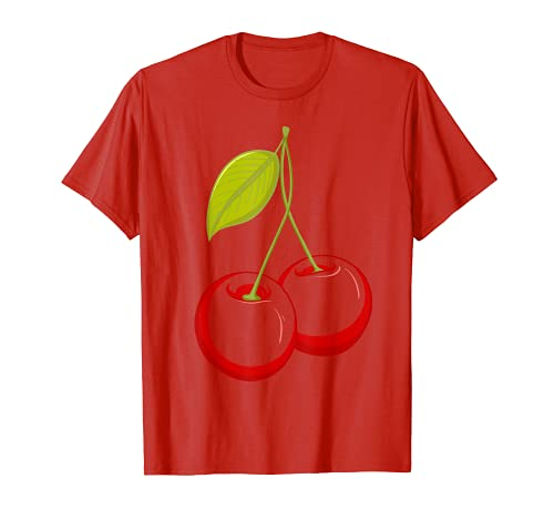 Disfraz De Cereza Halloween Camiseta