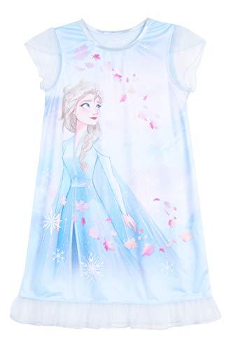 Disney Mädchen Frozen Nightgown Nachthemd, Elegante ELSA, 34