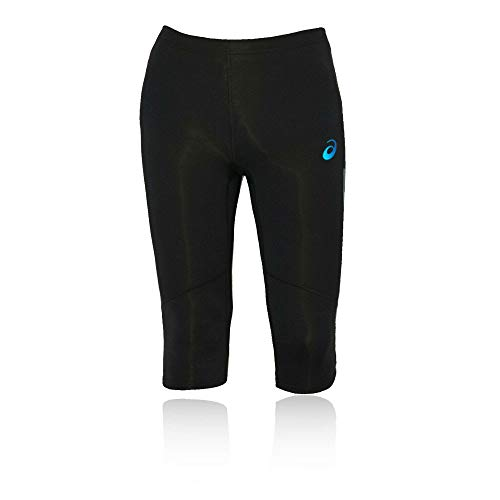 ASICS Pantalon de Sport Adrenaline Knee Collant Taille XL Noir - Performance Black/Atlantic Blue