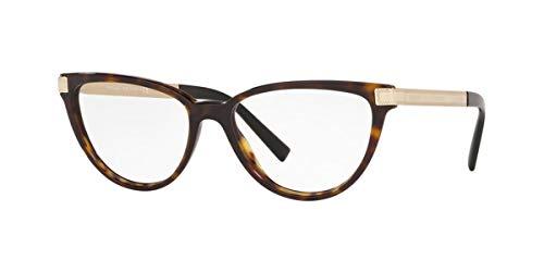 Versace 0VE3271 Monturas de gafas, Dark Havana, 52 para Mujer