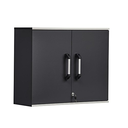 SystemBuild  Boss Wall Cabinet, Charcoal Gray