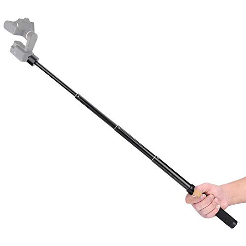 Topiky Aluminiumlegierung Gimbal Selfie Stick Verlängerungsstange Einbeinstativ Stabilisator 1/4 '' Screw Extender Pole für DJI/Zhiyun