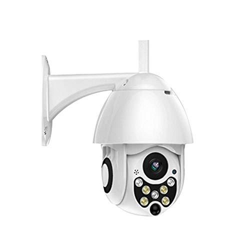 Luckyx 1080P Telecamera di Sorveglianza per Esterno Impermeabile WLAN Telecamera per Esterno WiFi per Fotocamera Outdoor Rilevamento di Movimento, Due vie Audio, Visione Notturna