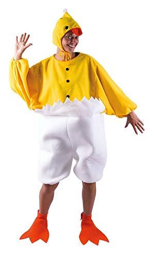 P'tit Clown 89830- Costume da Pulcino per Adulto–Taglia Unica–Giallo