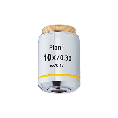 AmScope 10X Infinity-Corrected Plan Fluor Objective Lens
