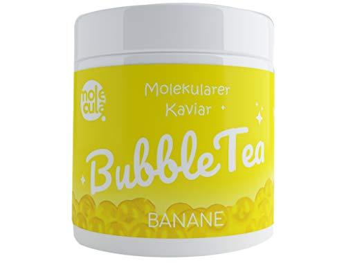 Bubble Tea Popping Boba 100% Vegan ohne künstliche Farbstoffe Banane 800g Kaviar