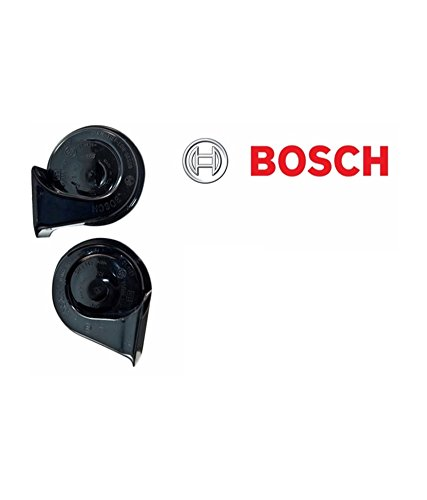 Bharat Motor Bosch Symphony Fanfare 12 V Horn for All Cars and Bikes (ho29th) - Set of 2