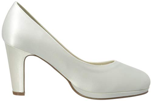Rainbow Club Brautschuhe Grace – Pumps, High Heels, Ivory/Creme - 6