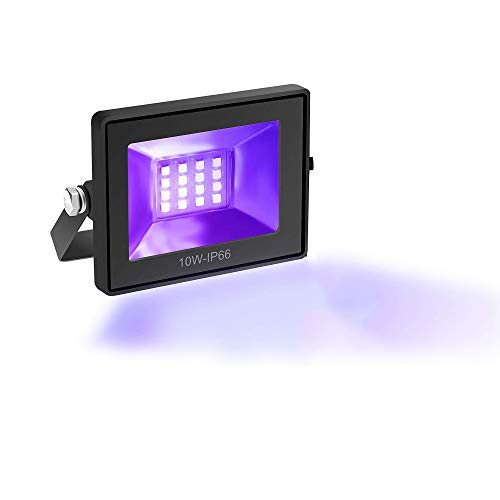 Sun3drucker Lámpara de resina USB para endurecer SLA DLP, lámpara de resina UV de 10 W, luz de resina UV de 405 nm, funciona con USB, lámpara de resina sensible a la luz para carcasa de endurecimiento