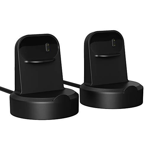 MoKo Caricabatterie Fit Fitbit Inspire/Inspire HR, Base di Ricarica...