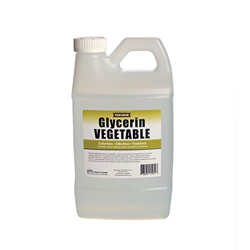 Vegetable Glycerin - Half Gallon (64oz)- All Natural, Kosher, USP Grade - Premium Quality Liquid Glycerin, Excellent Emollient Qualities, Amazing Skin and Hair Benefits, DIY beauty products.