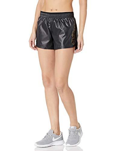 Tênis feminino Nike 10k Short Glam Graphic, Black/Metallic Gold, X-Small
