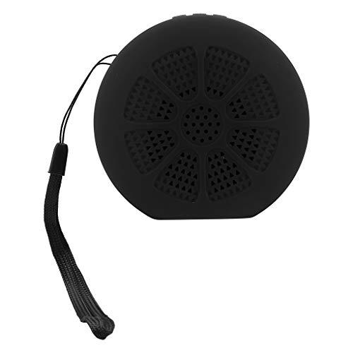 Cocoty-Store 2019 Altavoz Bluetooth, Potente Altavoz inalámbrico Portátil,Mini Altavoz inalámbrico portátil Reproductor de Radio USB FM Mp3 Bluetooth Altavoz(Negro)