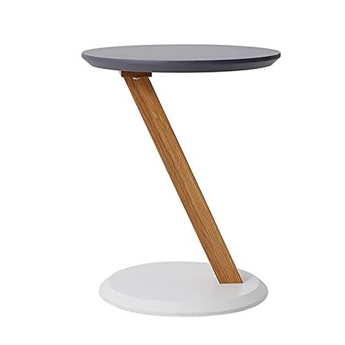 YAOLUU Diseño Moderno y Sencillo Mesa Lateral, Mesa de café pequeña Elegante y Creativa Mesa de café Sala de Estar balcón Mesa de té nórdico Mesa Mesa Mini Mesa de té Fácil de Montar