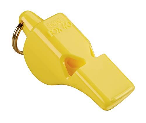 Mini silbato de Fox 40, amarillo